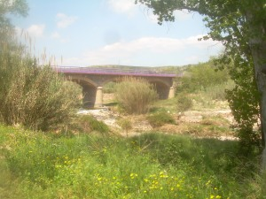 zona del campo de concentración en soneja donde estuvo Buero Vallejo.